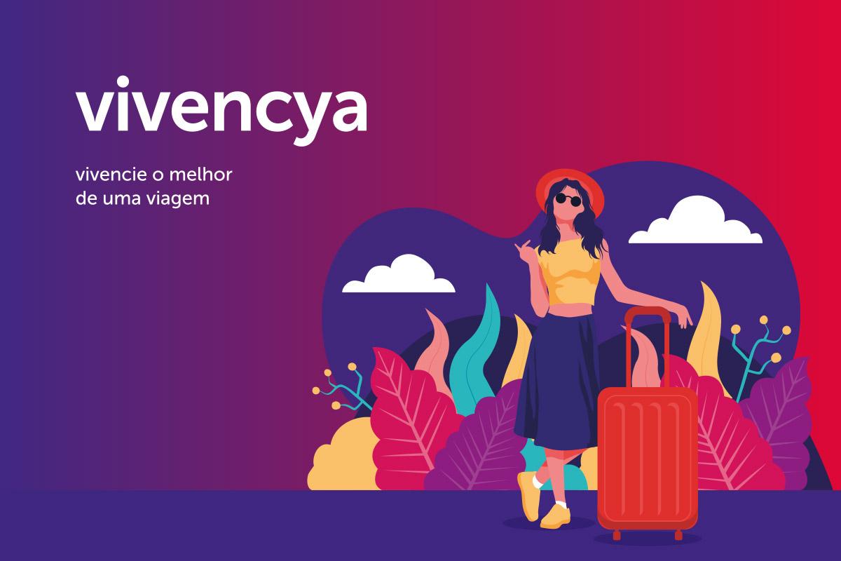 Projeto de Branding para Agência de Viagens Vivencya