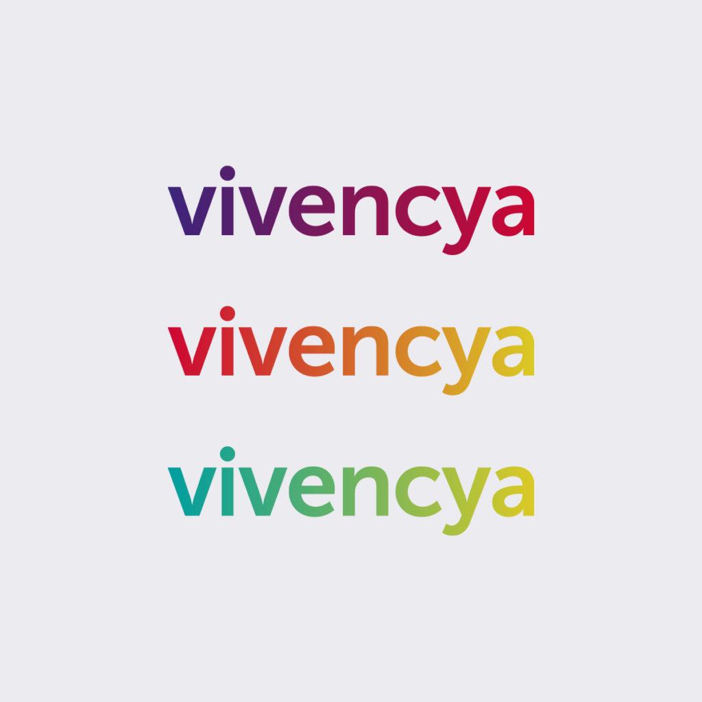 Projeto de Branding para Agência de Viagens Vivencya - Logotipo